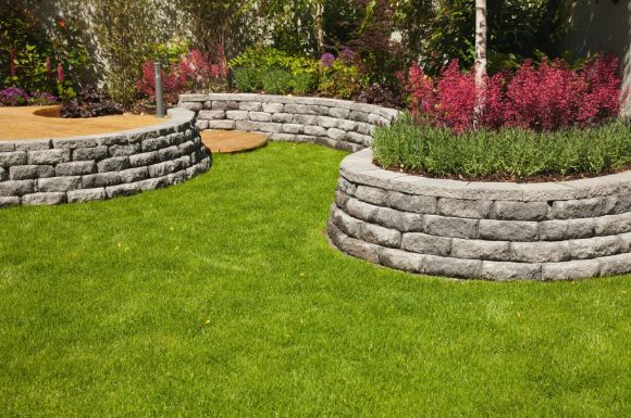 garden retaining walls built by Caboolture Landscaping